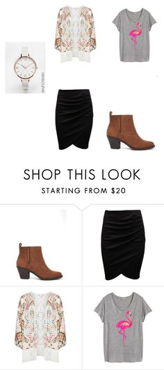 """""""Office"""" by mutydancer on Polyvore featuring Forever 21, Mat, H&M and ASOS Curve"""