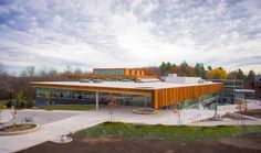 """Ontario trade school by Perkins + Will comprises """"shed-like"""" volumes"""