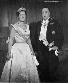 Princess Alice of Bourbon-Parma married to Prince Alfonso of Bourbon-Two Sicilies, Infante of Spain in 1936