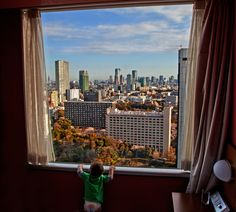 Looking out at Tokyo
