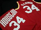 For Sale - Hakeem Olajuwon Houston Rockets NBA Jersey Red swingman throwback classic - See More At http://sprtz.us/RocketsEBay