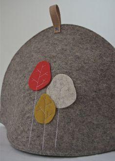 Tea cosy - islacorbett.com handmade modern felt goods