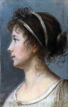 Elizabeth Louise Vigee-Lebrun - Self Portrait - 1801
