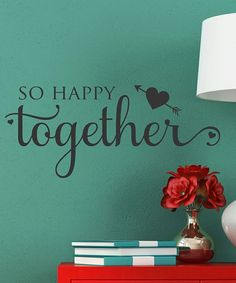 'Happy Together' Wall Decal