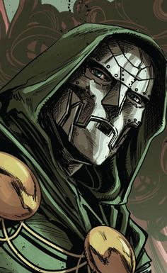 Dr Doom by Marco Checchetto                                                                                                                                                                                 More