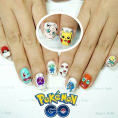 Awesome Nail Art Designs Inspired By Pokémon
