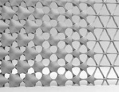 larameeee: Transformation by Stuart Fingerhut, Pattern Texture, 3d Pattern, 3d Texture, Texture Design, Surface Pattern, Surface Design, Pattern Design, Facade Pattern, Parametric Architecture