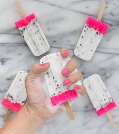 Nope, those aren't edible dragon fruit popsicles—they are actually DIY dragon fruit soap popsicles! Yep, you heard that...