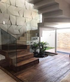 Interior stairs staircase makeover house Ideas for 2019 Staircase Interior Design, Home Stairs Design, Stairs Architecture, Modern Interior Design, Interior Architecture, House Design, Stairs And Staircase, Staircase Makeover, House Stairs