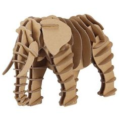 MUJI 3D elephant puzzle