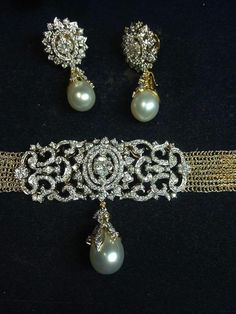 Diamonds + Pearls + High Karat Yellow Gold