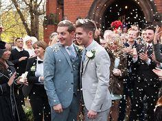 John Paul and Ste's wedding