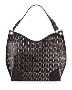 www yves saint laurent bag - V2RE6 Saint Laurent Emmanuelle Small Leather Fringe Hobo Bag ...