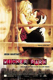 Wicker Park is a 2004 psychological thriller/romance film directed by Paul McGuigan starring Josh Hartnett, Diane Kruger, Rose Byrne and Matthew Lillard. Josh Hartnett, Rose Byrne, Diane Kruger, Movies And Series, Movies And Tv Shows, Love Movie, Movie Tv, Movie In The Park, Image Film