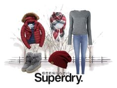 """The Cover Up – Jackets by Superdry: Contest Entry"" by nena-arteaga on Polyvore featuring Home Decorators Collection, Fuji, Paige Denim, Acne Studios, WithChic and Superdry"