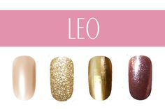 Nail Color by Zodiac Sign - Some colors represent your personality better than others, and your horoscope sign is a great way to find nail polish color shades that really work for you.