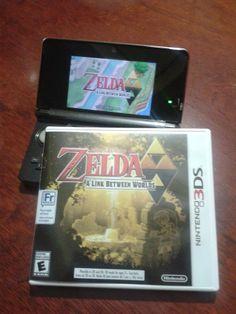 The Legend of Zelda: A Link Between Worlds.  ゼルダの伝説 神々のトライフォース2