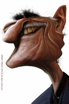 Caricatura de Omar Sharif