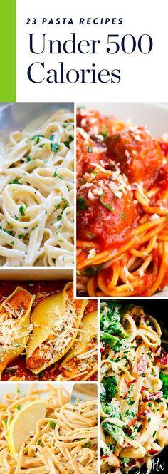 23 Pasta Recipes That Are Under 500 Calories via @PureWow via @PureWow