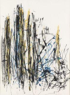 Joan Mitchell, Trees