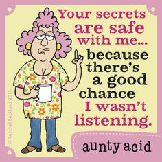 Aunty Acid Comic Strip, September 29, 2015 on GoComics.com