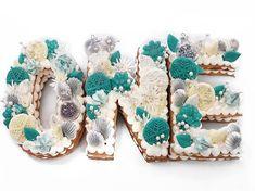 Las tartas en forma de letra o de número son las reinas de Instagram (y nosotras sabemos cómo hacerlas) Lunch Box, Cookies, Instagram, Desserts, Food, Party, Deserts, Pies, Queens