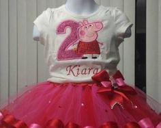 Gold Fairy Peppa Pig Birthday 1st 2nd 3rd 4th 5th por CelosNewWorld