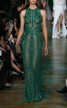 Long Dress by Elie Saab | Moda Operandi