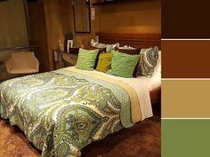 20 paletas de cores para quarto de casal para usar na decoração Home Design Decor, House Design, Home Decor, Double Room, Sweet Home, Bed, Projects, Furniture, Nova