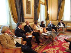 I relatori della presentazione a Roma