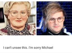 & Ican't unsee this. I'm sorry Michael - iFunny :) 5sos Quotes, 5sos Memes, Little Mix, Michael Clifford Imagines, 5 Seconds Of Summer Imagines, 5sos Art, 5sos Funny, Thomas Hood, 5sos Pictures