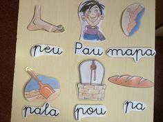 Almenys una sessió setmanal organitzem la classe per equips i fem activitats de llengua en diferents racons:   Hi ha una caixa amb pegatines...