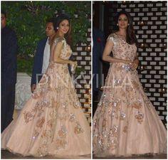 Yay or Nay : Sridevi in Manish Malhotra Couture   PINKVILLA