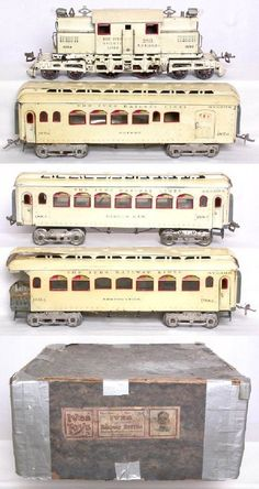 Ives Special Dealer Display Model in White Hobby Trains, Old Trains, Train Car, Train Tracks, Lionel Train Sets, Train Pictures, Electric Train, Rolling Stock, Old Toys