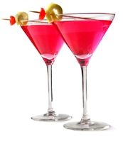 2 parts UV Lemonade   2 parts cranberry juice   Splash of triple sec     Shake with ice and strain into a martini glass
