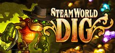 SteamWorld Dig is a platform mining adventure with strong Metroidvanian influences. Take the role of Rusty, a lone mining steambot, as he arrives at an old mining town in great need. Dig your way through the old earth, gaining riches while uncovering the ancient threat that lurks below...