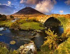This little footbridge in the shadow of Mount Errigal leads across the river into The Poisoned Glen in Co Donegal. England Ireland, Donegal, Ireland Vacation, Dream Vacations, Amazing Photography, Places To See, Beautiful Places, Around The Worlds, Natural