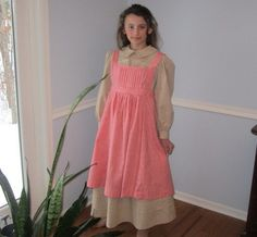 MAISEY  Swedish Style Girls Pioneer by NaturalCharmHeirloom, $52.00