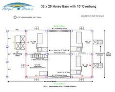 Horse Barns, Horses, Deep Drawing, Small Barns, Corner House, Pole Barn Homes, Dream Barn, Barn Plans, New Property
