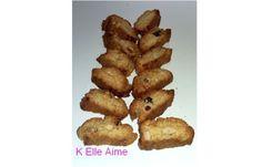 Les Cantucci, biscuits secs italiens aux amandes, superbes avec le café