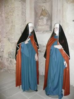 Bénédictines en habit du XIe siècle