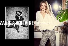 Malgosia Bela for Zadig and Voltaire Spring Summer 2016
