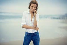 dl1961 spring 2014 campaign8 Josephine Skriver Fronts DL1961 Premium Denim Spring/Summer 2014 Campaign