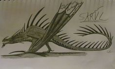 How To Train Your Dragon: Skrill by AcroSauroTaurus on DeviantArt