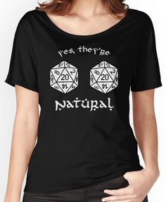 D20 - Dungeon and Dragons Women's Relaxed Fit T-Shirts