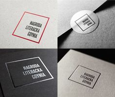 Literary Prize Gdynia / branding on Branding Served