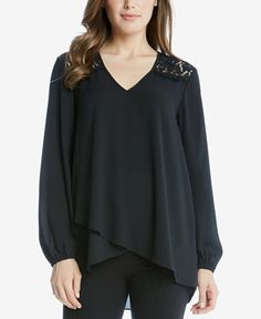 54.99$  Watch here - http://vilyr.justgood.pw/vig/item.php?t=n5w81z15715 - High-Low Faux-Wrap Top