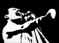 Freddie Mercury - Stamp