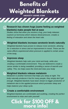 Clinically Proven Benefits of Weighted Blankets for Anxiety de18ccca8