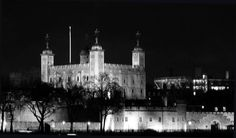 A rather ghostly Tower of London